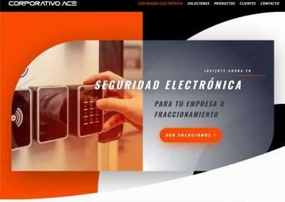 CORPORATIVO ACE Distribuidor de tecnología de seguridad