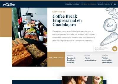 BARRA PALERMO Catering empresarial