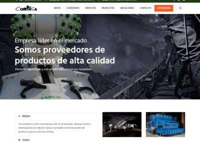 COMINSA Distribuidor de equipo para minería