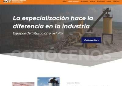EST TRITURACIÓN Distribuidor de equipos de trituración