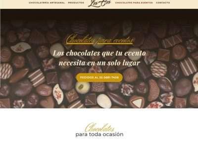LESCES Fabricante de chocolate
