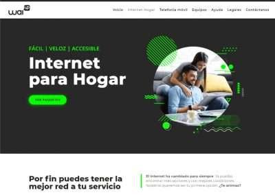 WAIUP Distribuidor de Internet y Telefonía Móvil